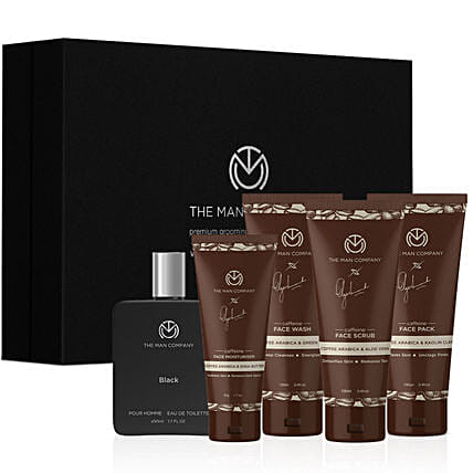 Online The Man Company Caffeine Daily Care Kit