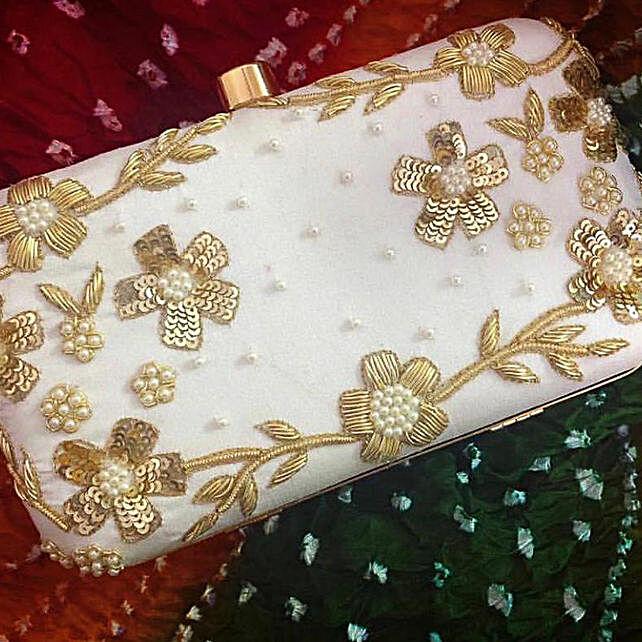 Customised Fancy Clutch Bag 8 X 4 cms