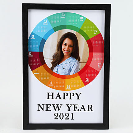photo printed new year frame:New Year Gifts to Delhi