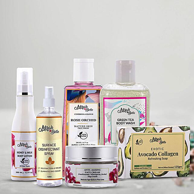 Online Skin Care Kit for Mother