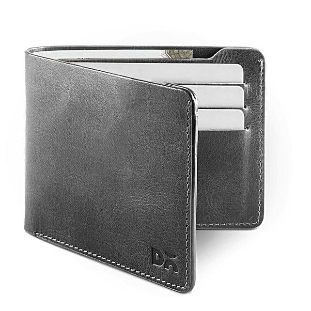 Grey Leather UrbanGentleman Wallet