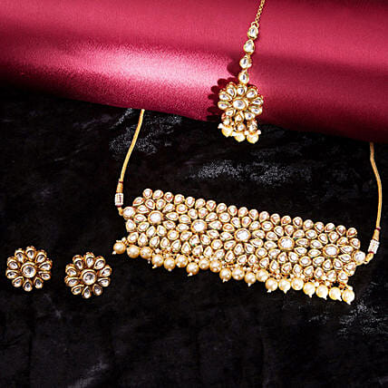 necklace set for  wife online:Jewellery Gifts
