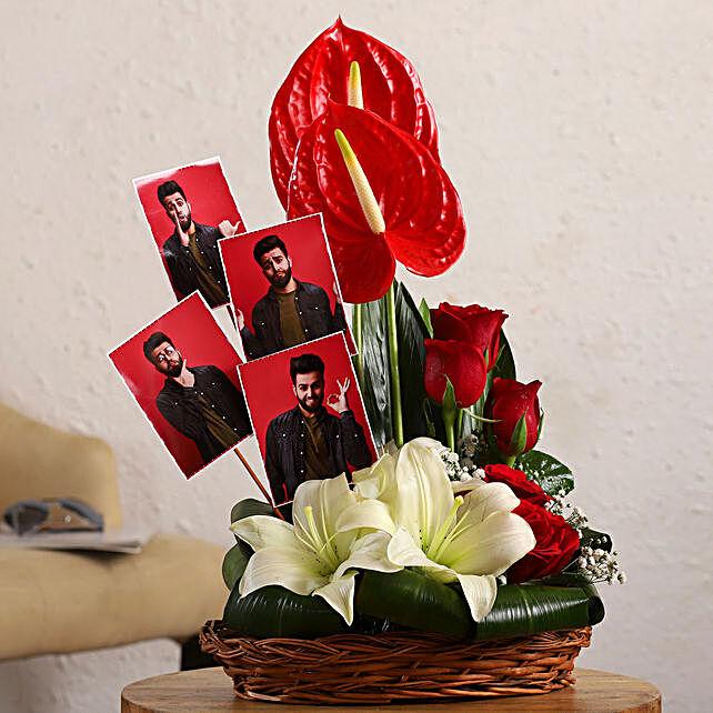 Online Flowers Personalised Arrangement