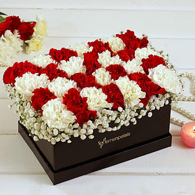 Online Carnations Arrangement