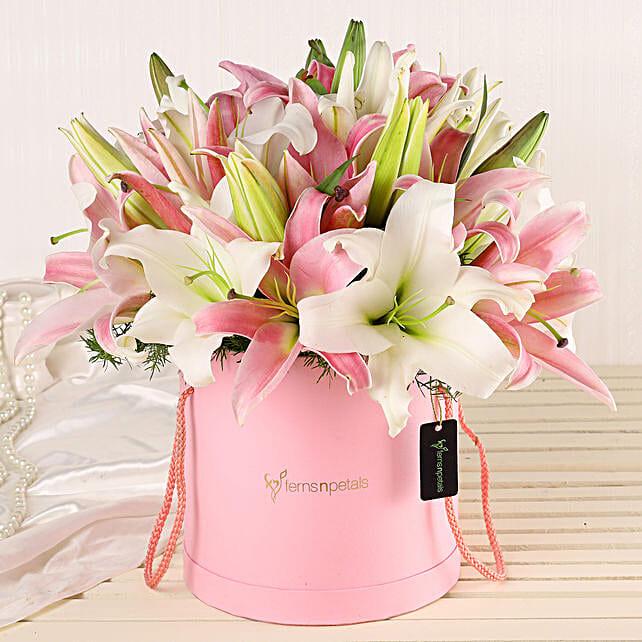 Online Lilies Bouquet