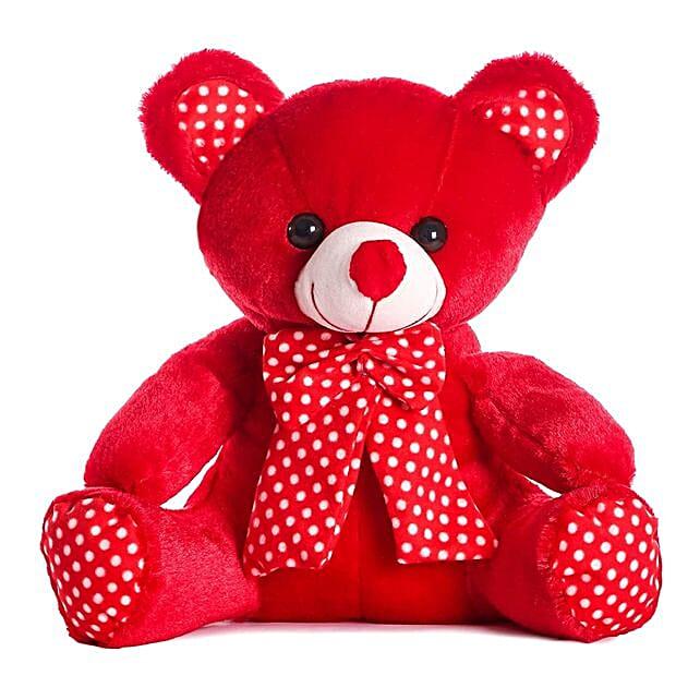 Online Red Bow Teddy Bear