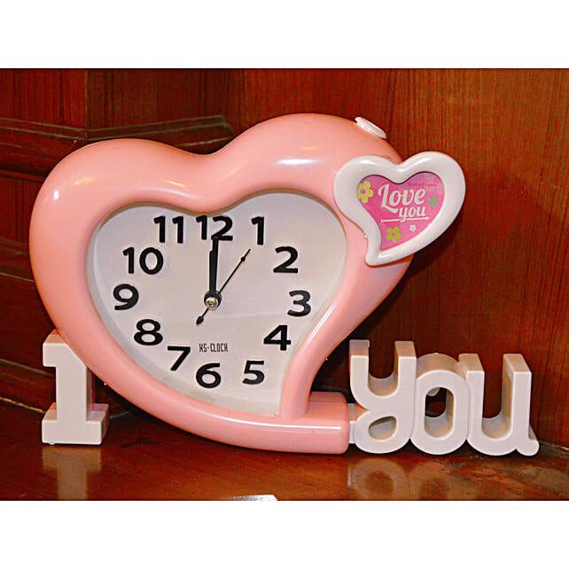 heart shape table alarm