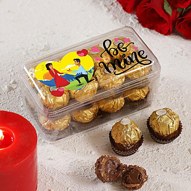 Be Mine Ferrero Rocher Box:Ferrero Rocher Chocolates