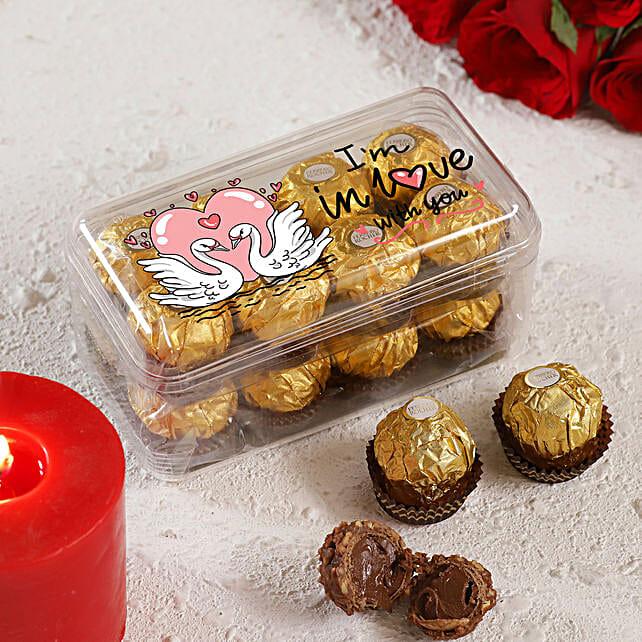 I am In Love With You Ferrero Rocher Box:Ferrero Chocolate