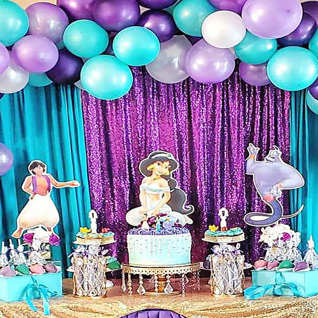 Jasmine Theme Decoration