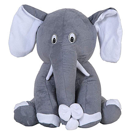 Cute Elephant Soft Toy:Send Soft toys to Lucknow