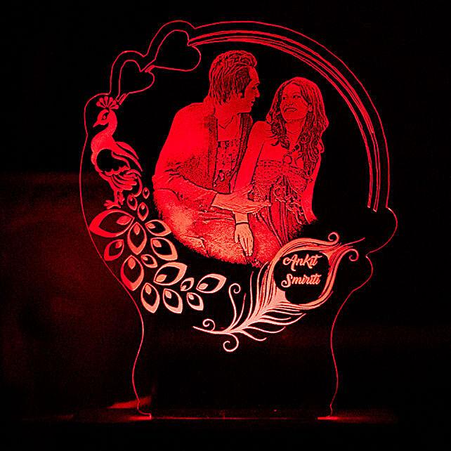 transparent personalised lamp online