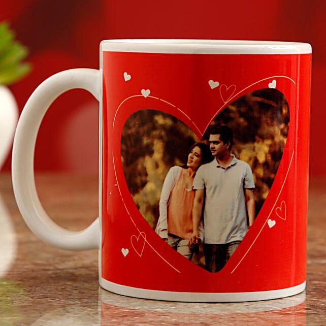 online personalised mug for vday