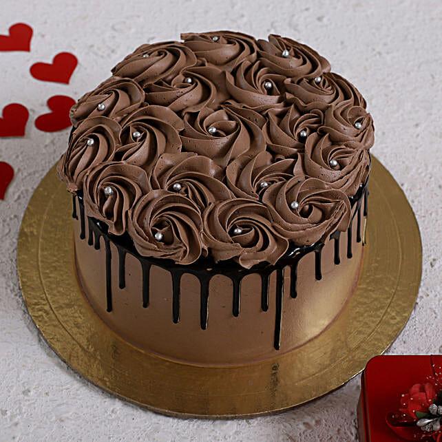 Choco Rose Delight Designer Cake