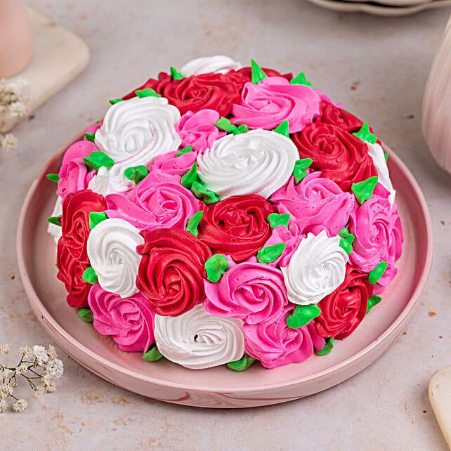 Full Of Roses Designer Cake