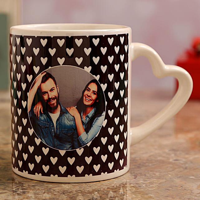 online valentines day theme personalised mug
