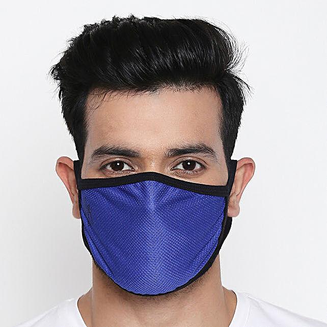 Online Athletic Black Face Mask