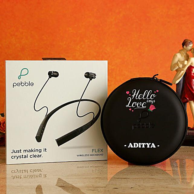 personalised wireless neckband:Premium Personalised Gifts