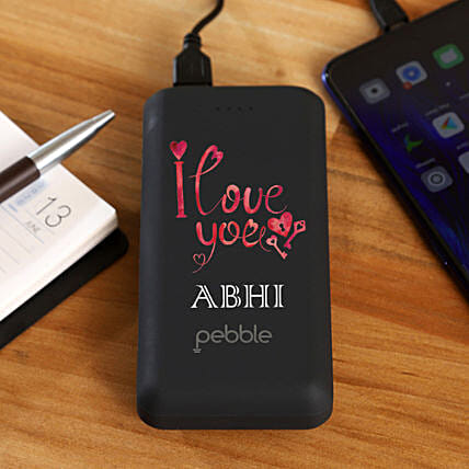 personal touch power bank for him:Personalised Power banks