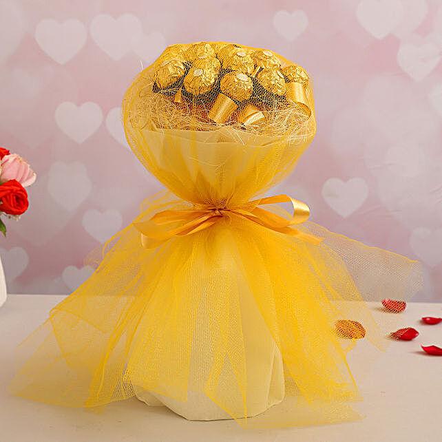 Elegant Ferrero Bouquet for Her