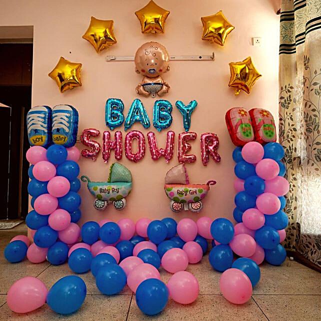 Elegant Baby Shower Decor