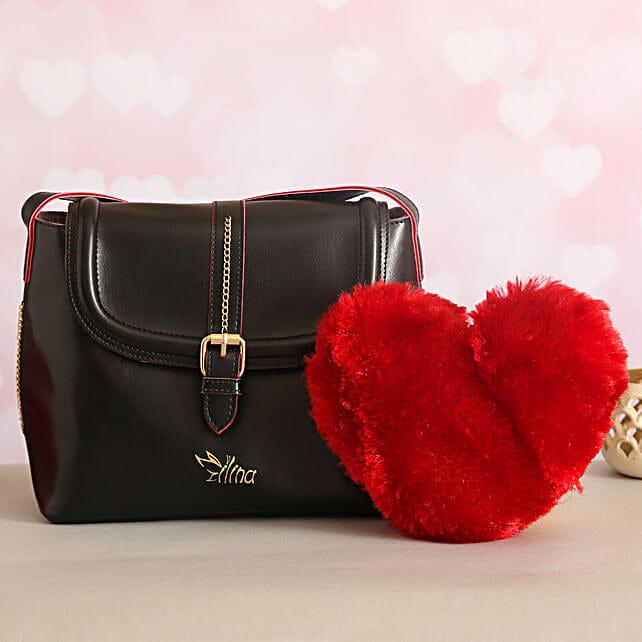 For Her Sling Bag Love Red Heart