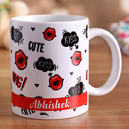 personalised coffee mug for vday:Valentine Personalised Gifts
