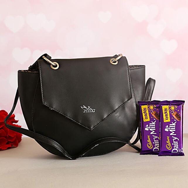 Gorgeous Sling Bag Cadbury Crackle