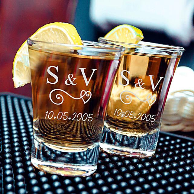 Personalised Amazing Shot Glass Set of 2 Online