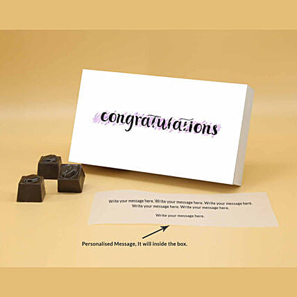 Online Greetings With Personalised Chocolates