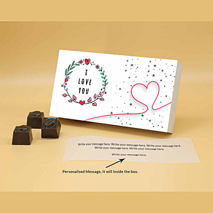 Online Loving You Personalised Chocolate Box