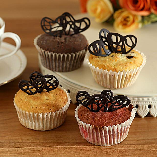 Gluten Sugar Free Almond Love Cupcakes