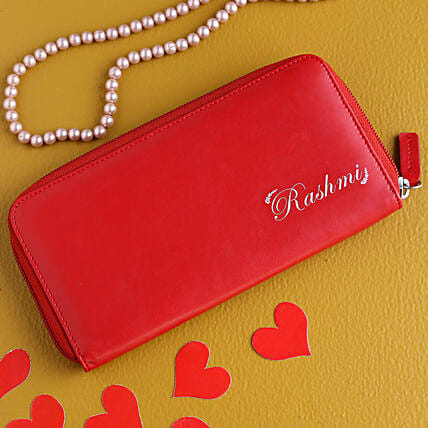 Customised Love Wallet for Girls:Customised Handbags and Wallets
