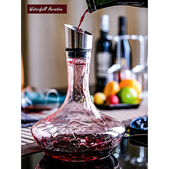 Online Iceberg Wine Decanter