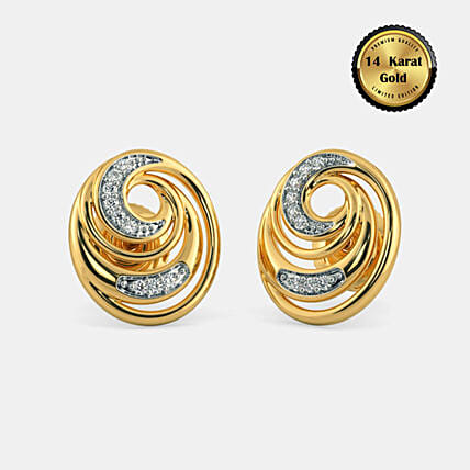 Online The Circinus Stud Earrings