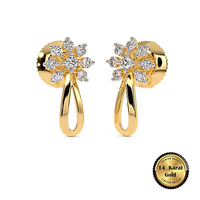 Online The Mohor Stud Earrings:BlueStone Jewellery