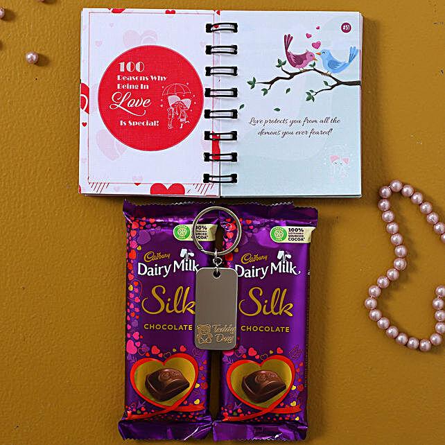 Cute Teddy Day Chocolatey Gift