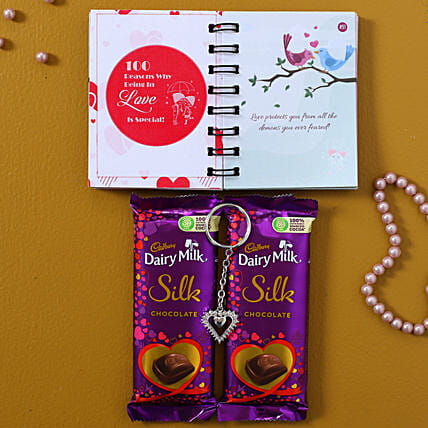 Love Heart Special Chocolate Combo:Books