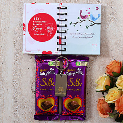 Rose Day Special Chocolatey Gift
