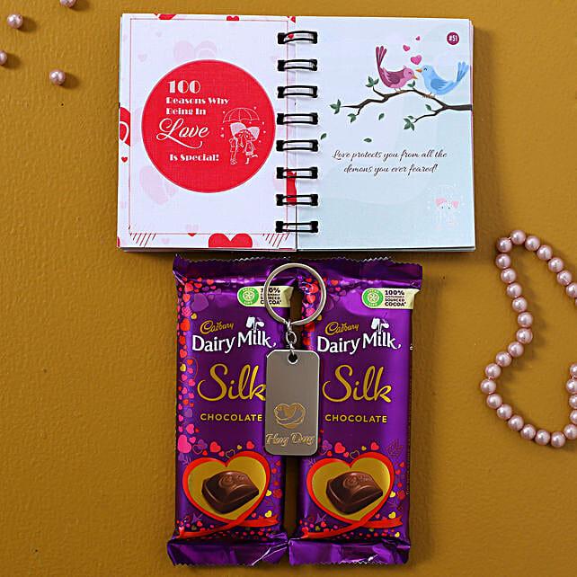Send Chocolatey Hug Gift Combo
