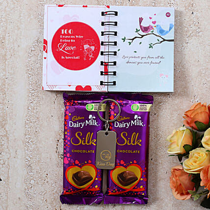 Special Kiss Day Silk Love Gift