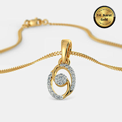 Online Aashi Pendant:Send Jewellery Gifts