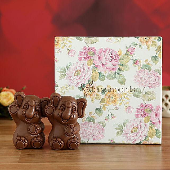 online teddy shape chocolates