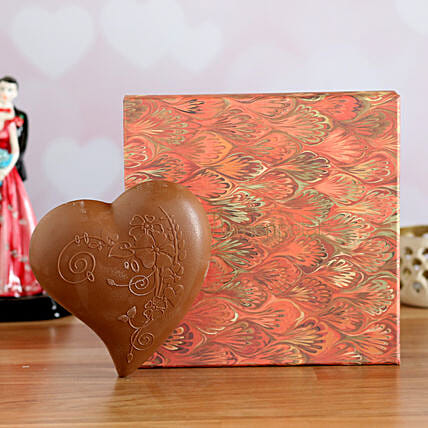 carved heart chocolate box