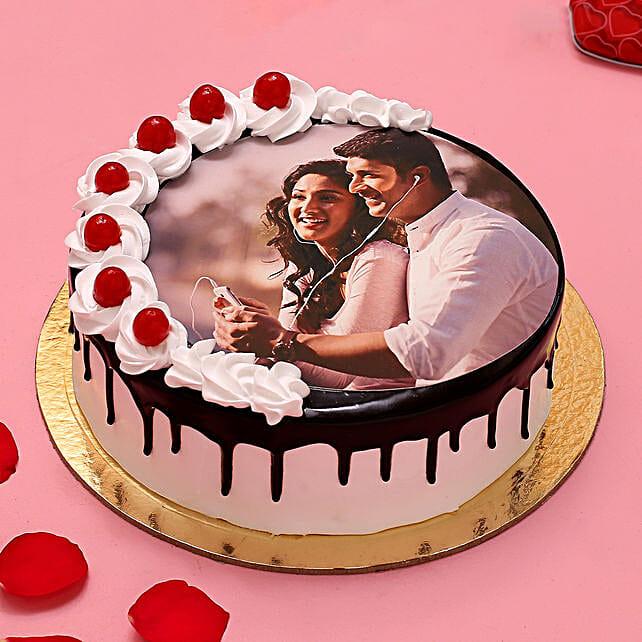 Bond of Love Photo Cake
