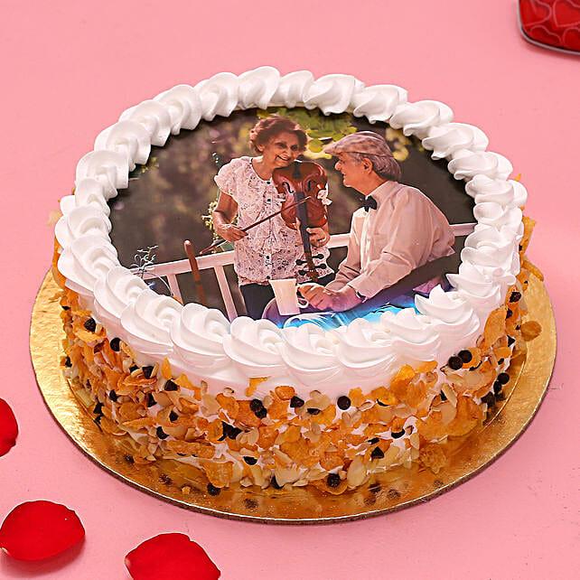 Joyous Moments Photo Cake
