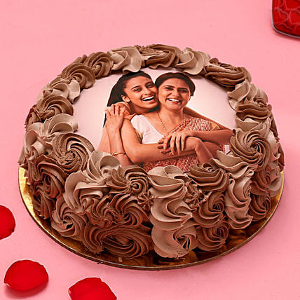 My Love Photo Chocolate Cake