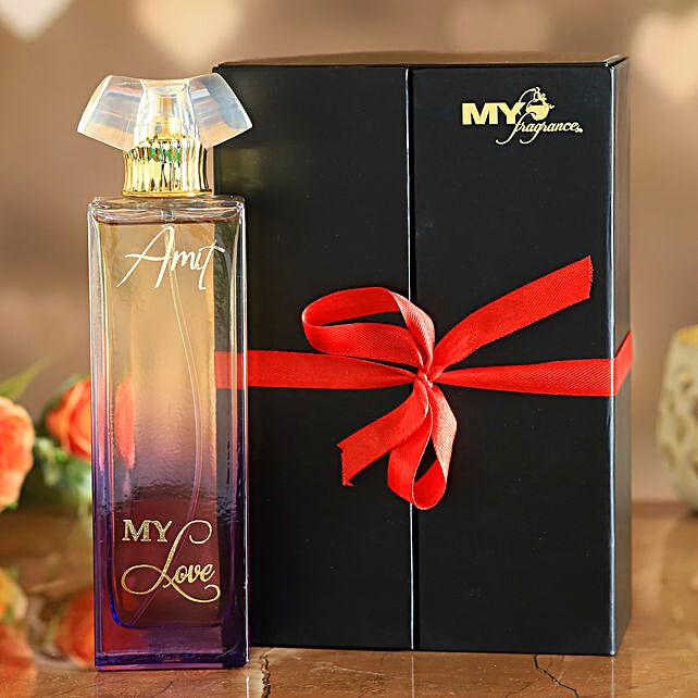 My Love Personalised Natural Perfume