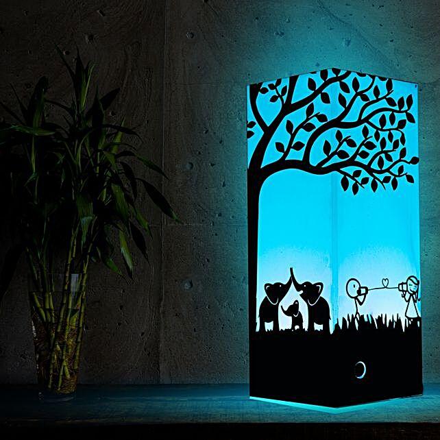 Under one Tree Talk Through Internet Lamp