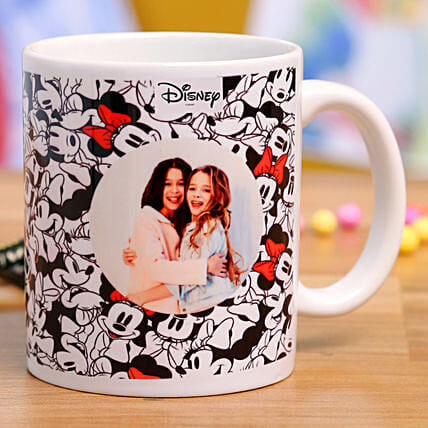 Personalised Minnie Mouse Photo Mug Hand Delivery:Personalised Mug